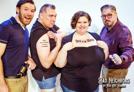 Photoshoot fun with the cast of Bad Neighbors